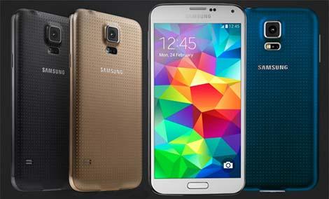 سامسونج تكشف عن هاتف Galaxy S5 Plus بمعالج Snapdragon 805 الجديد !