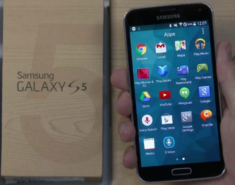 هكذا سيبدو نظام Android L على هاتف Galaxy S5 !