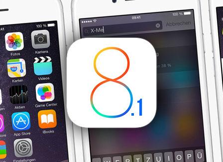 آبل تطلق تحديث iOS 8.1 ، و إليك أبرز المزايا الجديدة !
