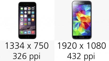 مقارنة شاملة : الآيفون 6 ضد جالكسي إس 5 !