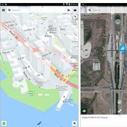 تسريب تطبيق خرائط نوكيا Nokia HERE للأندرويد