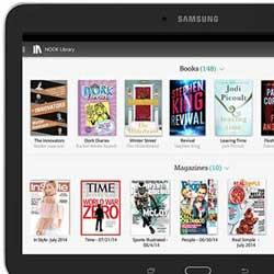 سامسونج تعلن عن الجهاز اللوحي Galaxy Tab 4 Nook 10.1 !