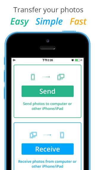 تطبيق Photo Transfer Pro لإرسال الصور والفيديو