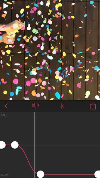 تطبيق Slow Fast Slow للتحكم في سرعة الفيديو