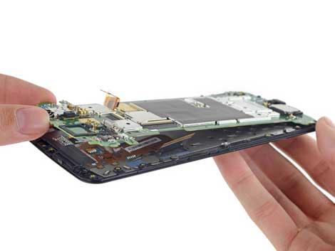 تصليح جهاز نيكسس 6 سهل ويسير في حال الفتح