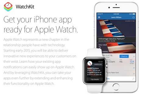 آبل تطلق WatchKit حزمة تطويرية لساعتها الذكية - التطبيقات قادمة