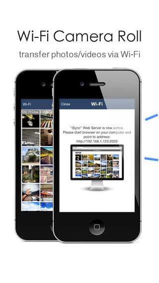 تطبيق iTransfer لإرسال واستقبال الصور والفيديو