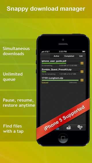 تطبيق Download Expert لتحميل الملفات للأيفونتطبيق Download Expert لتحميل الملفات للأيفون