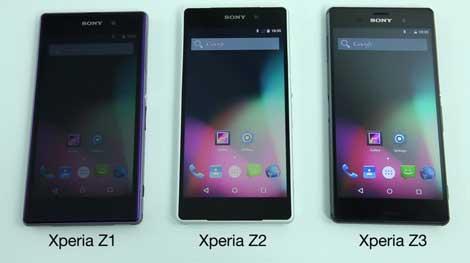فيديو: أندرويد 5 على أجهزة Xperia Z1, Z2, Z3