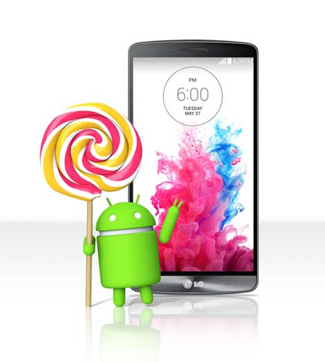 جهاز LG G3 سيحصل على تحديث الأندرويد 5.0 هذا الأسبوع