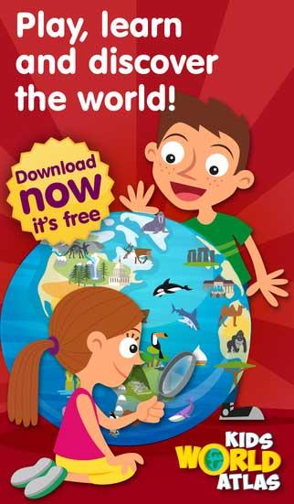 لعبة أطلس العالم للأولاد