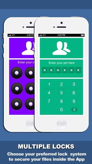 تطبيق Secure Files لحماية ملفاتك بأرقام سرية