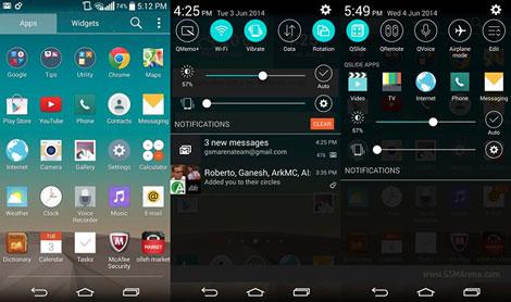 صور جهاز LG G3 بنظام الأندرويد 5.0 Lollipop