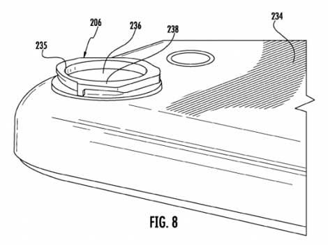 براءات اختراع خاصة بآبل لتطوير كاميرا الأيفون