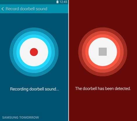 ميزة Sound Detector لكشف الأصوات الخارجية