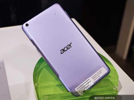 الجهاز اللوحي Acer Iconia Talk S الداعم للشريحة