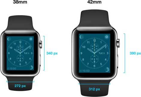 مقاسات ساعة آبل الذكية