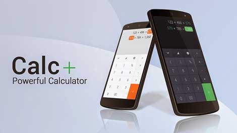 تطبيق Calc+ للأندرويد - آلة حاسبة مميزة
