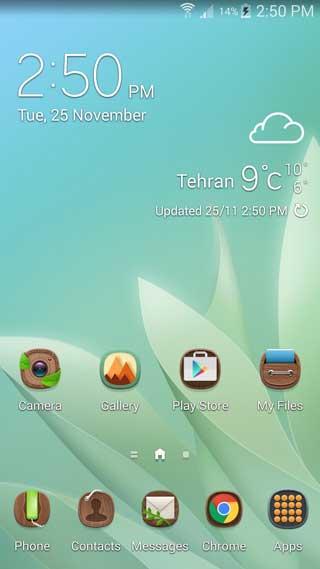 واجهة TouchWiz الجديدة