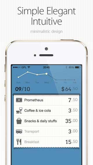 تطبيق DailyCost لحساب مصاريفك اليومية