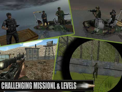 لعبة Lone Army Sniper Shooter للاندرويد