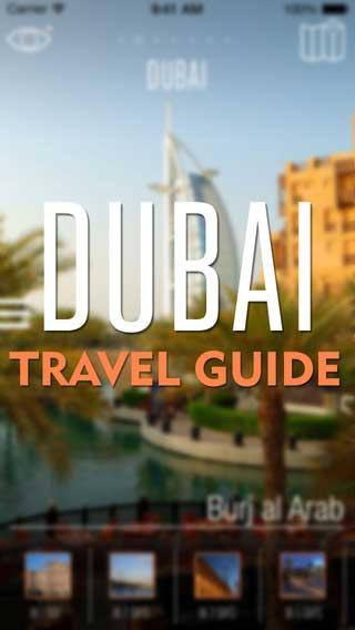 تطبيق Dubai Travel Guide دليلك للسياحة في دبي - للأيفون