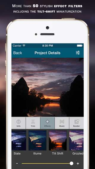 تطبيق Lapse It Pro لتحرير مقاطع فيديو والصور