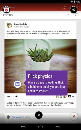 تطبيق Link Bubble Browser لفتح الروابط الخارجية