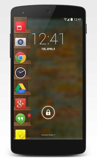 تطبيق Glovebox لفتح التطبيقات من شاشة القفل للأندرويد