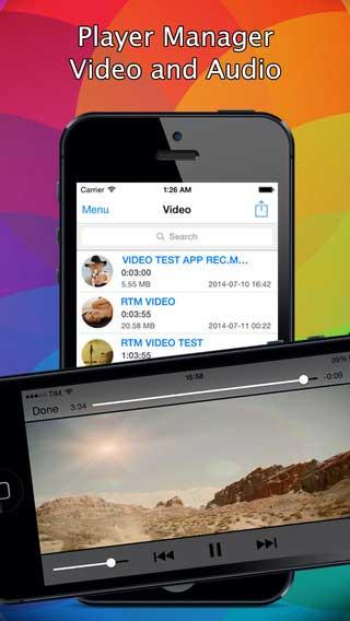 تطبيق HD Movie لتشغيل واستخراج الصوت من الفيديو