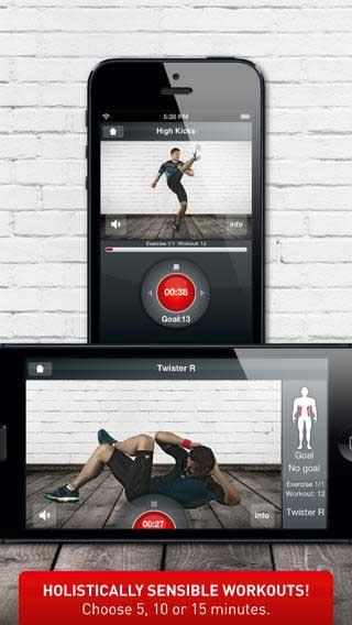 تطبيق Calistix Personal للتمارين الرياضية