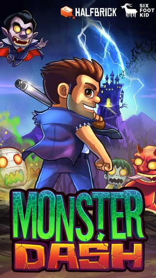 لعبة Monster Dash تعود من جديد بشكل جديد