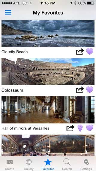 تطبيق DMD Panorama لتصوير ومشاركة صور بانورامية