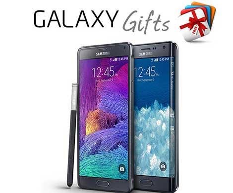 سامسونج تطرح هدايا إضافية لأصحاب Galaxy Note 4 و Galaxy Note Edge !