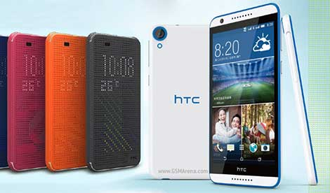 الإعلان عن هاتف HTC Desire 820s بمعالج MediaTek 6752 ثماني النواة !