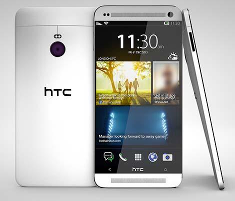 [تقارير] : هاتف HTC One M9 سيأتي بشاشة 5.2 إنش بدقة 2K !