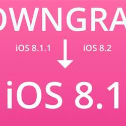 شرح طريقة الرجوع من iOS 8.1.1 إلى 8.1 !