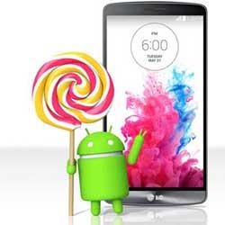 شركة LG تعد بتوفير تحديث الأندرويد 5.0 قريبا لجهاز LG G3