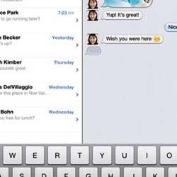 مكتب التحقيقات الأمريكية: تطبيق الدردشة iMessages قد يسبب موت الأطفال !