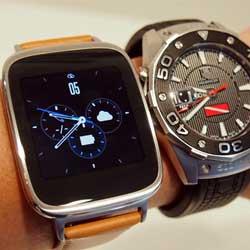 شركة ASUS تعلن ساعة ZenWatch العاملة بالأندرويد وير