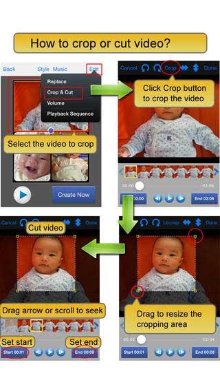 تطبيق Video Album لدمج وتعديل الفيديو