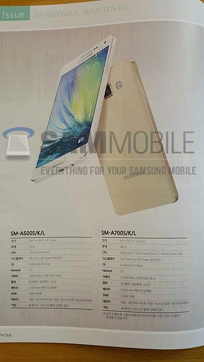 تسريبات: صور وتفاصيل جديدة حول جهاز Galaxy A7