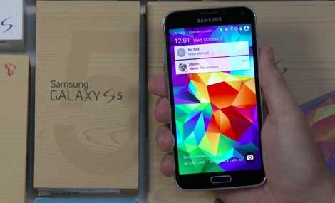 جهاز جالاكسي S5 يحصل على تحديث أندرويد 5.0 رسميا