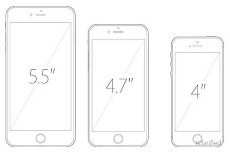 إشاعة: آبل تعمل على أيفون بشاشة 4 إنش !