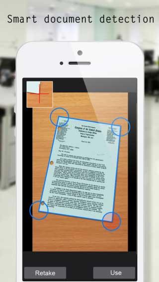 تطبيق Easy Scan لتصوير المستندات