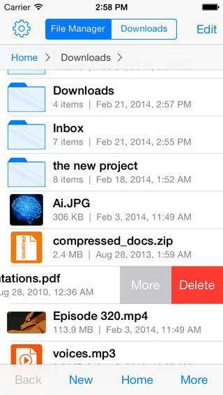 تطبيق FileStation - ملفّـاتي مدير ملفات للأيفون