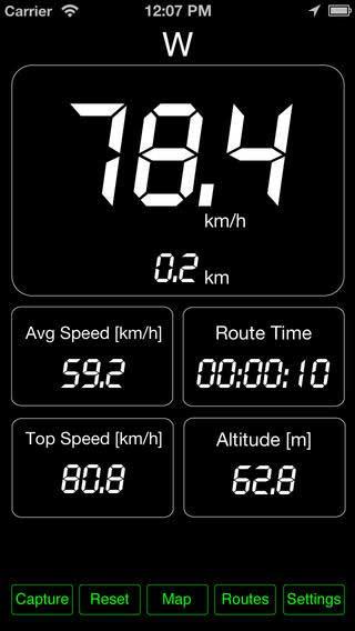 تطبيق Speed PRO+ لمعرفة سرعتك وحفظ طريقك
