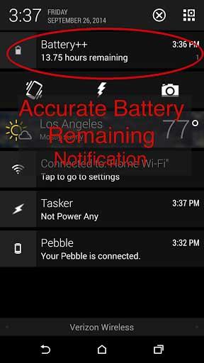 تطبيق Battery++ مرشدك للحصول على أفضل بطارية للأندرويد