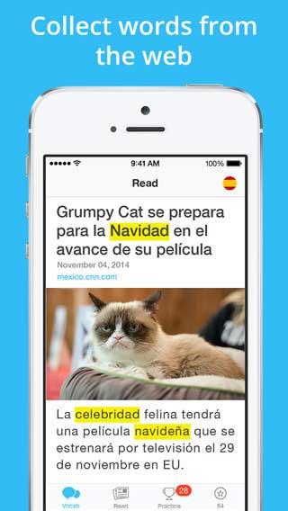 تطبيق Lingua.ly