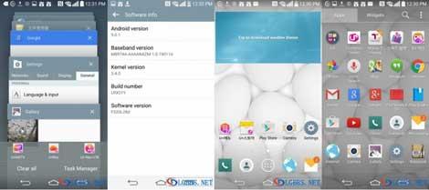 صور مسربة: جهاز LG G2 بنظام الأندرويد 5.0.1
